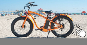 Kumsalda Kullanım e-bike