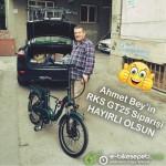İstanbul'dan Ahmet  Bey'e hayırlı olsun