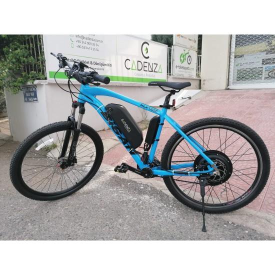 Cadenza E-Bike 1000W 48V16Ah 75 Km/h Mavi
