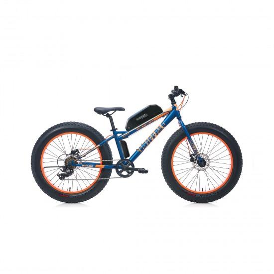 Cadenza FatBike E-Bike 1000W 48V16Ah 75 Km/h Buffalo 24 Turuncu