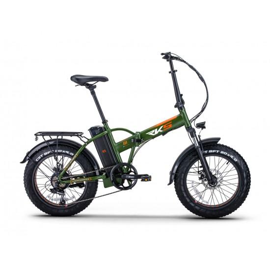 RKS RSIII 250W 36V10Ah 25 Km/h Yeşil