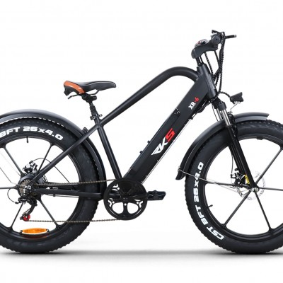 RKS XR6 250W 48V10Ah 25 Km/h Siyah