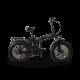 Skyjet E-Bike Nitro Urban 250W Hupo 36V10Ah 25 Km/h Siyah