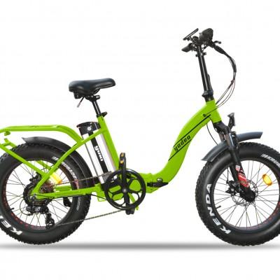 Yuki E-Wild 20S Fatbike 250W 36V10,4Ah 25 Km/h Yeşil