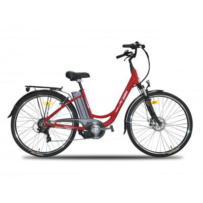 Yuki YD-EBX053DP 250W 36V10,4Ah 25 Km/h Kırmızı