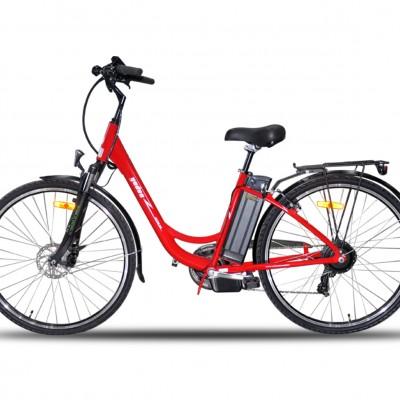 Yuki YD-EBX053DP 250W 36V10Ah 25 Km/h Kırmızı