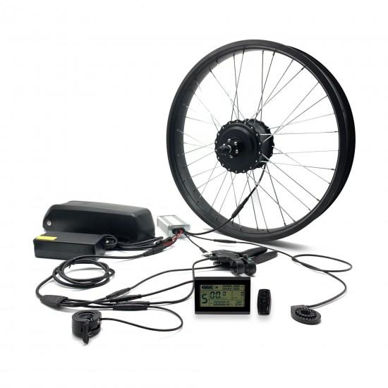 Cadenza FatBike Elektrikli Bisiklet Dönüşüm Kiti 1000W 48V-16Ah LG