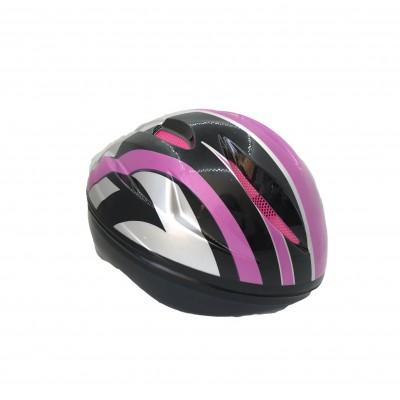 Mor Bisiklet Kaskı 009