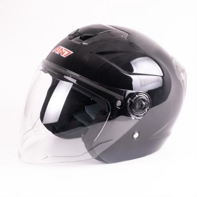 EB-AN7-720 Yarım Vizörlü Helmet Parlak Siyah