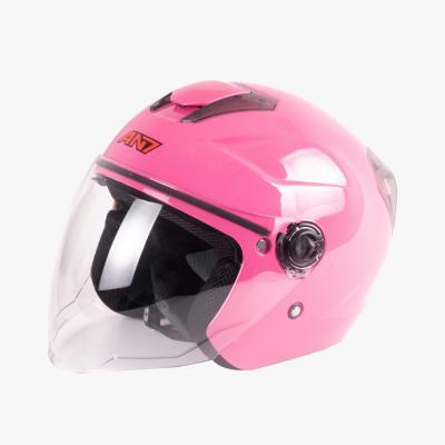 EB-AN7-720 Yarım Vizörlü Helmet Pembe