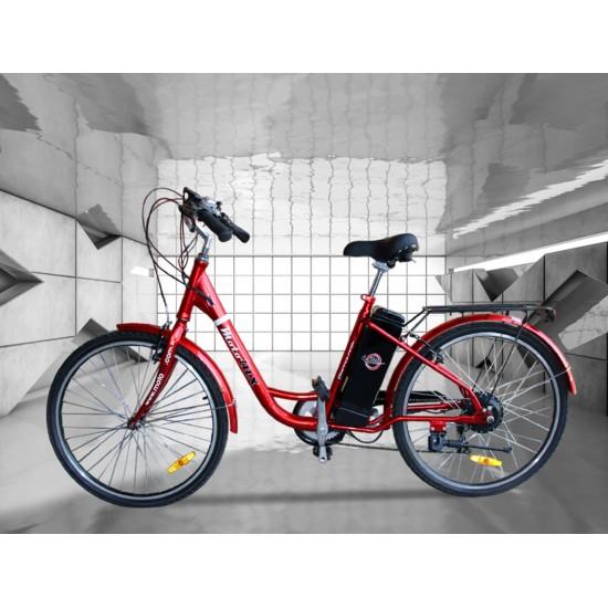 Motolux Barcelona 249W 36V10Ah 25 Km/h Kırmızı
