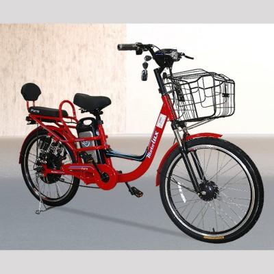 Motolux Paris 249W-48V10Ah-25 Km/h Kırmızı