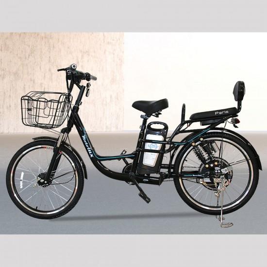 Motolux Paris 249W 48V10Ah 25 Km/h Siyah