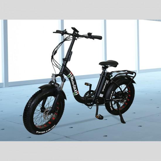 Motolux Roma 249W 48V12Ah 25 Km/h Siyah