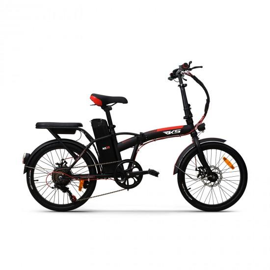 RKS MX35 250W 36V7,8Ah 25 Km/h Siyah Kırmızı