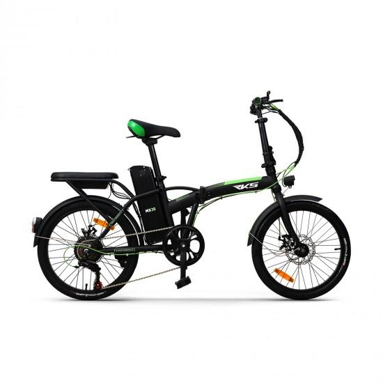 RKS MX35 250W 36V7,8Ah 25 Km/h Siyah Yeşil